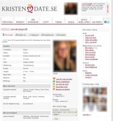 Kristendate Profil